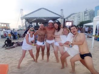New Year's Eve on Copacabana